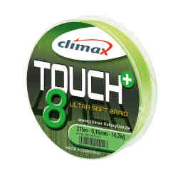 Шнур Climax Touch 8 Plus BRAID (chartreuse) 0.16