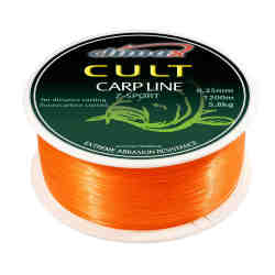 Леска Climax CULT Carp Line Z-Sport orange 0.25мм