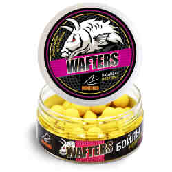 Бойлы MINENKO WAFTERS HONEY (Fluo) 14мм